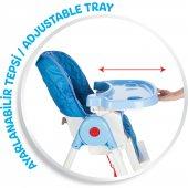 Pilsan  Süper Mama Sandalyesi 07-517 - Kırmızı - Mavi - Pembe - Pratik Mama  Sandalyesi-4