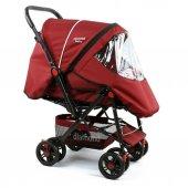 Diamond Baby P101  Çift Yönlü Bebek Arabası - 6 Renk - Yağmurluklu Ayak Örtüsü Dahil-4