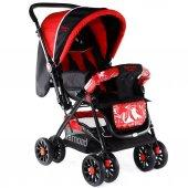 Diamond Baby P101  Çift Yönlü Bebek Arabası - 6 Renk - Yağmurluklu Ayak Örtüsü Dahil-7