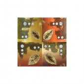Four Soul 4 Parça Kanvas Tablo 70x70 Cm