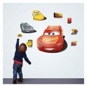 Disney Cars Duvar Stickerı 68x48 Cm