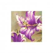 Lilac 4 Parça Kanvas Tablo 70x70 Cm