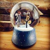 Sevgililer Günü Kış Masalı Müzikli Kar Küresi