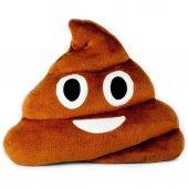 Emoji Gülen Poo Yastık