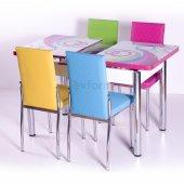 Mutfak Masa Takımı Masa Sandalye Açılır Kelebek...