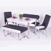 Banklı Masa Takımı Mutfak Yemek Masası Model Fiyat Mutfak Masası-3