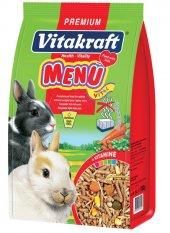 Vitakraft Menü Vital Premium Tavşan Yemi 5x1000 Gr...