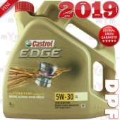 Castrol Edge Ll 5w 30 4litre Tam Sentetik Motor...