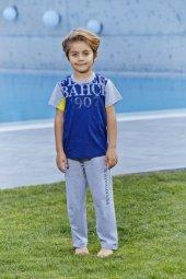 Rolypoly 9104 Lisanlı Fenerbahçe Pijama Takımı 2 7 Yaş
