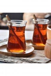 Bambum Silva 6lı Kare Çay Tabağı
