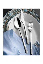 Yetkin Çelik Saten Alya Tatlı Çatal 12 Adet