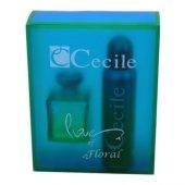Cecile Parfüm Floral Bayan Seti 100ml Edt+150ml De...