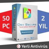 Dev Secure 50pc, 2yıl Masaüstü Yerli Antivirüs
