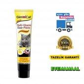 Gimcat Anti Hairball Duo Paste Peynirli Kedi...
