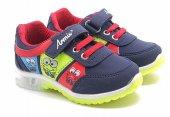 Kids World Işıklı Lacivert Çocuk Spor Ayakkabı