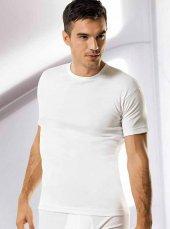 Namaldi 111 Ribana Erkek Sıfır Yaka Biyeli Tişört