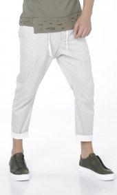 Score Çizgili Erkek Gabardin Pantolon
