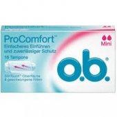 O.b. Procomfort Mini Tampon 16 Adet Hijyenik Ped