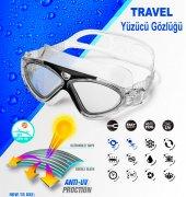 Travel Hydrospirit Ayarlanabilir Yüzücü Gözlüğü