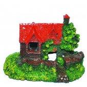 Tisert Küçük Ev Akvaryum Dekoru (D 364)