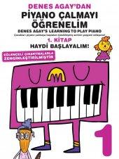 Denes Agaydan Piyano Çalmayı Öğreniyorum 1