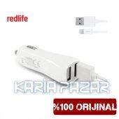 Redlife 2.1a Araç İçi Şarj Cihazı Micro Usb Araç Şarjı