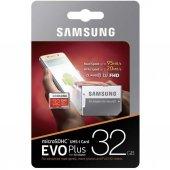 Samsung 32gb Evo Plus Micro Sd Hafıza Kartı C10...