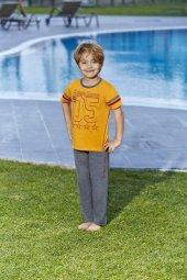 Rolypoly 9124 Lisanslı Galatasaray Pijama Takımı 8 16 Yaş