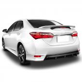 Toyota Corolla Arka Tampon Difüzör 2013 Sonrası