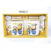 Çılgın Hırsız Minions Çift Porselen Kupa Seti (2 Adet)-4