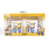 Çılgın Hırsız Minions Çift Porselen Kupa Seti (2 Adet)-8