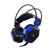Snopy Rampage Sn R5 Oyuncu Siyah Mavi Mikrofonlu Kulaklık