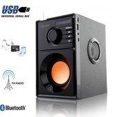 Mıkado Md 10b Bluetooth Speaker Fm Radyo + Usb...