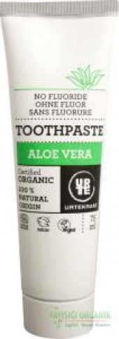 Urtekram Organik Diş Macunu Florürsüz Aloe Veralı 75ml.