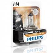Philips H4 30 Fazla Işık Uzun Kısa Far Ampülü 12342prb1