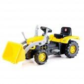 Dolu Kepçeli Traktör