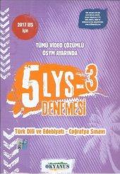 okyanus Yayınları LYS 3 Türk Dili ve Edebiyatı - Coğrafya 5 Denem