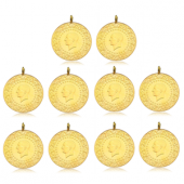 Tam Altın Darphane 10 adet paket ( 2019 )