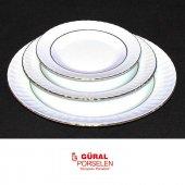 Güral Porselen Sedef Pasta Tabağı 20 Cm