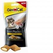 Gimcat Nutri Pockets Peynirli Kedi Ödülü 60 Gr