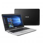 Asus X502NA GO044 Cel N3350 2.40 GHz 4GB 500GB 15.6 HD Led Tümleşik VGA Dos