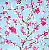 Ithal Çiçek Desenli Duvar Kağıdı (Graham Brown...