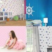 çocuk Odası Duvar Kağıtları 19,90 Tl