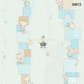 Ayıcıklı Çocuk Odası Duvar Kağıdı