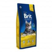 Brit Premium Cat Somonlu Yetişkin Kedi Maması 8...