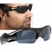 Aksiyon Kameralı Gözlük Bluetooth Mp3 Video Kayıt Hd