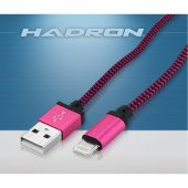 Hadron Hd4319 Pembe Iphone5 İpli Kablo