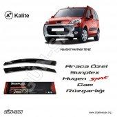 Peugeot Partner Tepee Cam Rüzgarlığı Sunplex Mugen Tip 2li