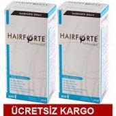 Hairforte Sprey Erkek 60 Ml 2 Adet