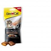 Gimcat Nutri Pockets Kedi Ödülü Tavuk Biotin...